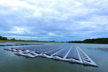 solar test bed tengeh reservoir seris lead
