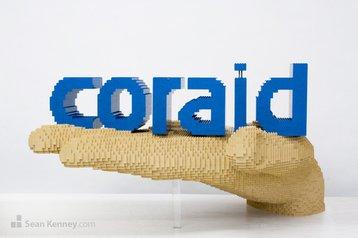Coraid Lego hand