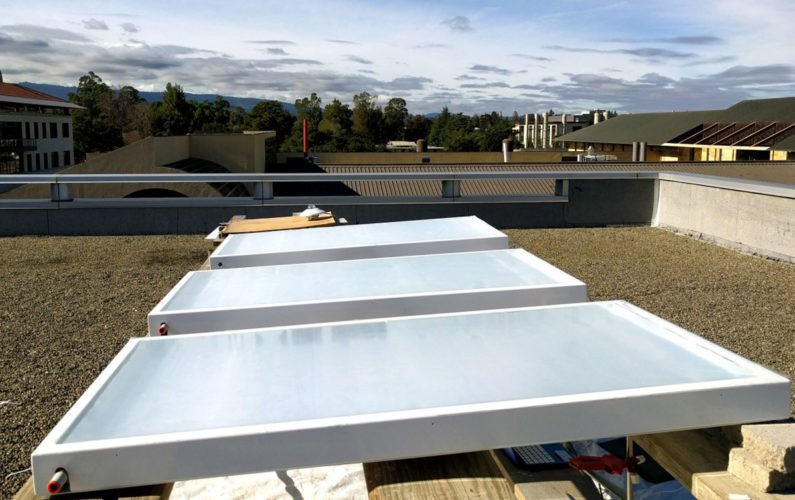 Stanford researchers test passive cooling system that beams