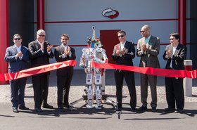 supernap 9 ribbon cutting