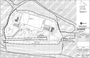 Building plan for AT&T's proposed Short Hill Mountain facility