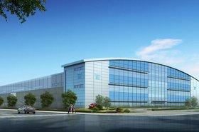 Chayora's data center in Tianjin - 3D render