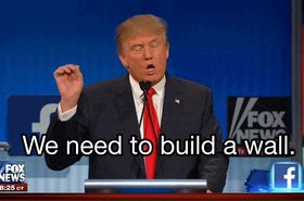 trump infrastructure build a wall