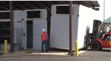 univ ersity of Montana modular data center installation