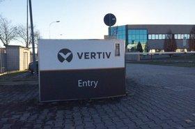 Vertiv entrance
