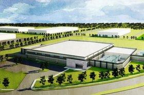 ViaWest data center in Plano, Texas - artist's impression