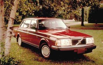 A classic Volvo 240