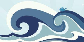 Docker on crest of a wave