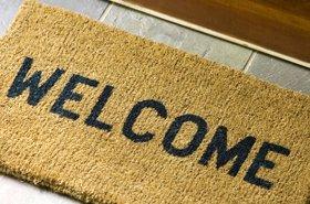 welcome doormat lead
