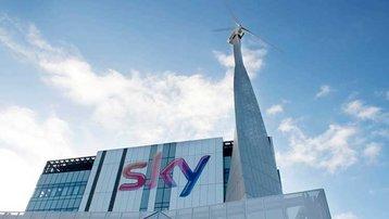 wind sky turbine