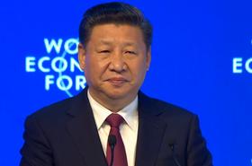 Xi Jinping, Davos
