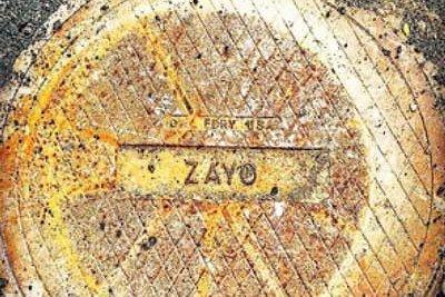 Zayo manhole cover