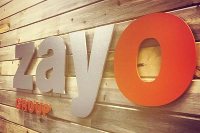 In the Zayo office
